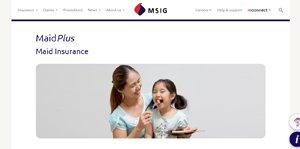 MSIG - MaidPlus Maid Insurance