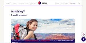 MSIG TravelEasy Insurance