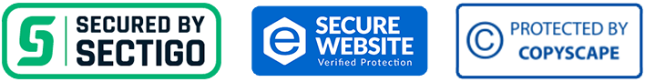 Secured by SECTIGO SSL Cert