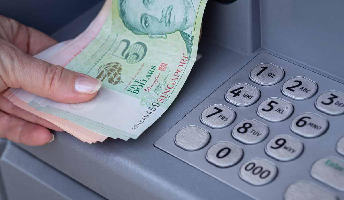 OCBC ATM Cash Withdrawals