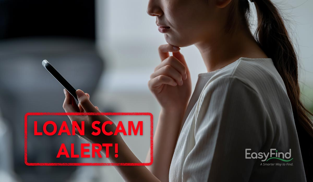 Loan Scam alert by EasyFind Singapore