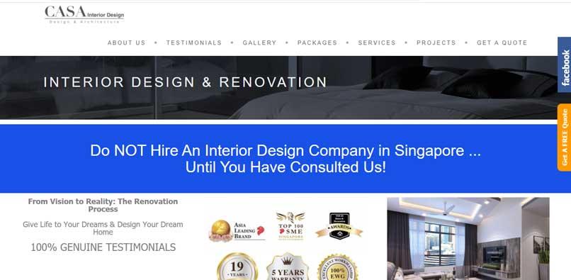 Casa Interior Design Pte Ltd
